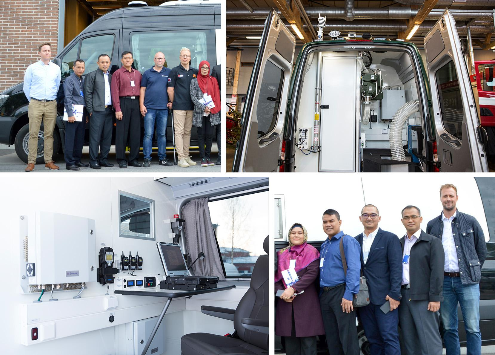 Indonesian CBRN Reconnaissance Vehicle Factory Acceptance Test