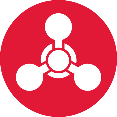 Chemical threats symbol