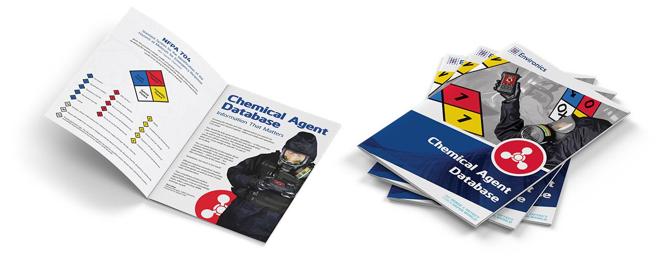 Chemical agent database booklet available for download.