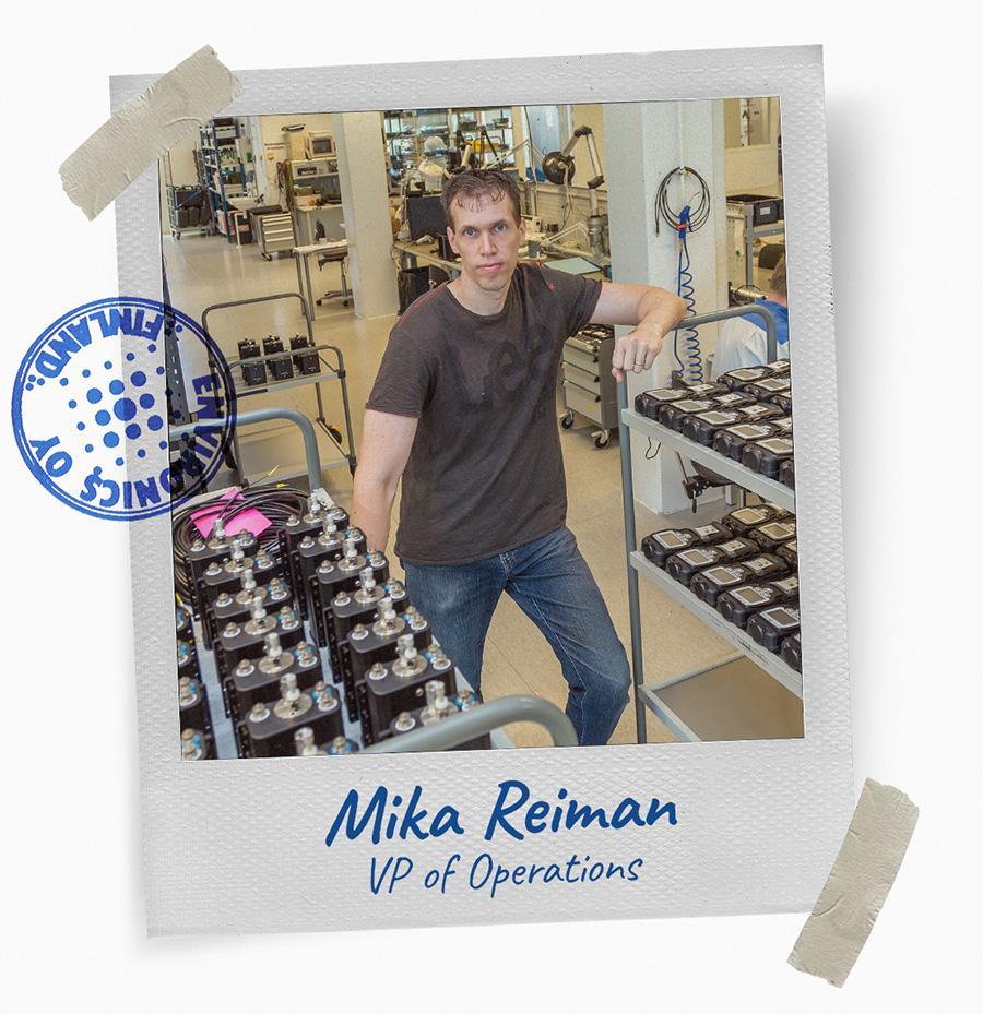 Environics-Team - Mika Reiman