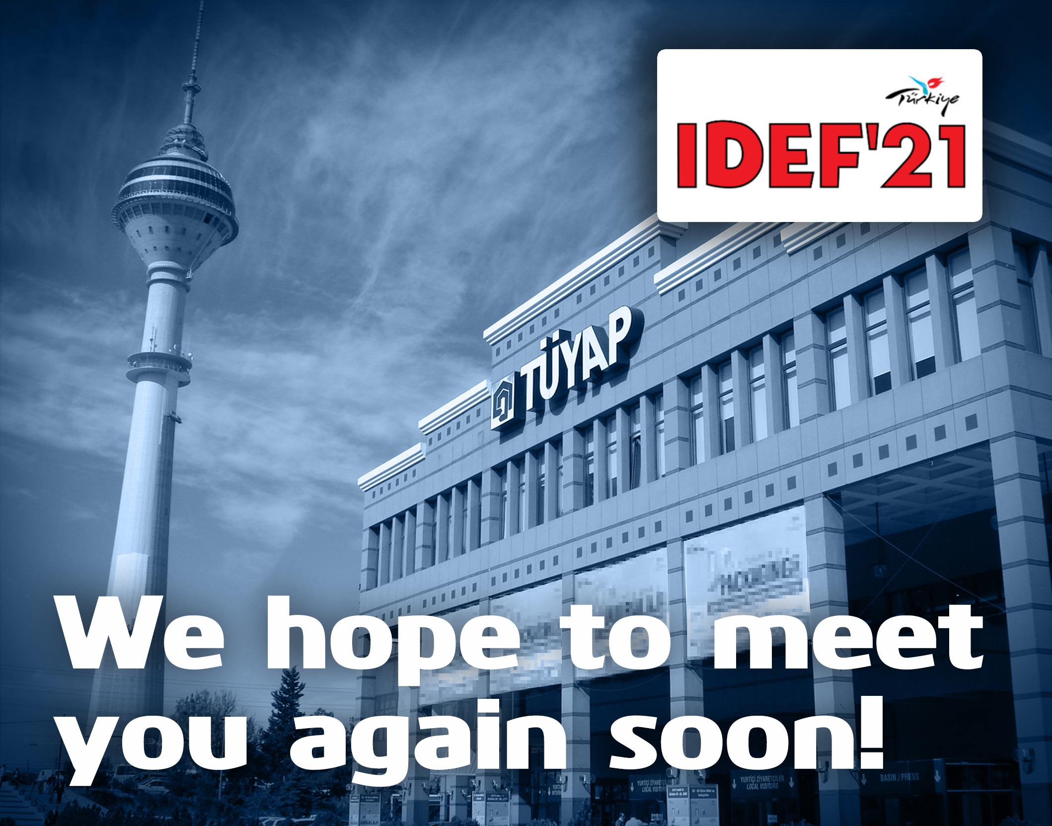 Environics participation in IDEF21 cancelled.