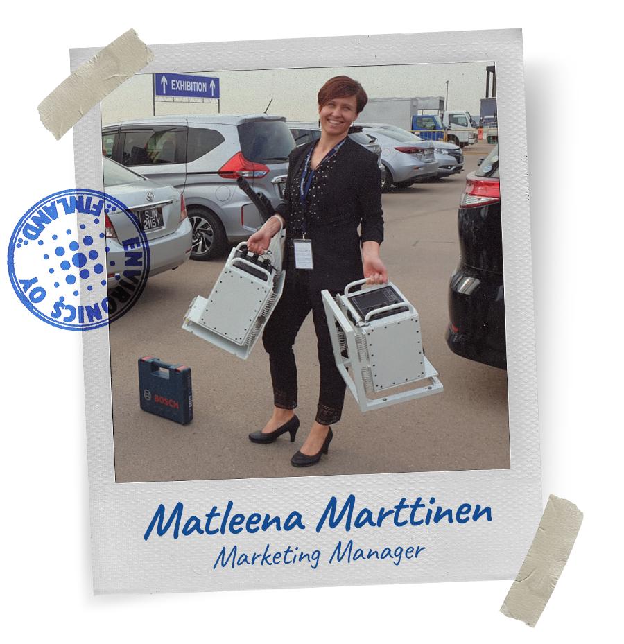 Matleena Marttinen - Environics Team