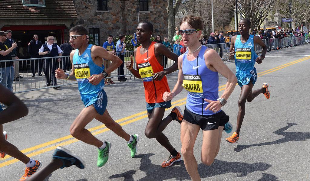 Major Public Event Protection - 2014_Boston_Marathon_last_few_lead_men