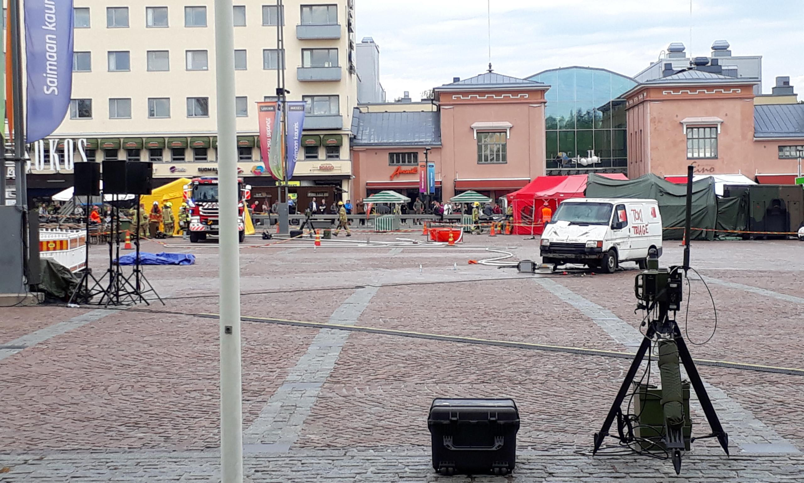 MPE as toxi triage in Mikkeli, finland